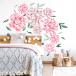 stickers | pink peonies